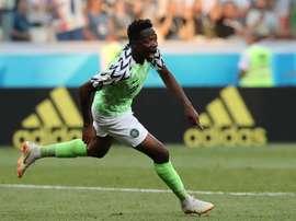 Ahmed Musa podría cambiar de aires tras el Mundial. EFE