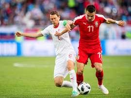 Filip Kostic est suivi par l'Inter. EFE