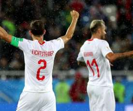 Lichtsteiner is being linked with a move to Augsburg. EFE