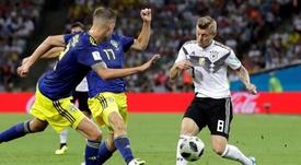 Kroos et Ter Stegen sont de nouveau convoqués avec l'Allemagne. EFE