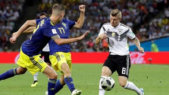 Suecia está siendo una de las sorpresas del Mundial. EFE