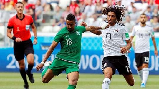 Egipto, castigada por jugar un amistoso fuera de plazo. EFE