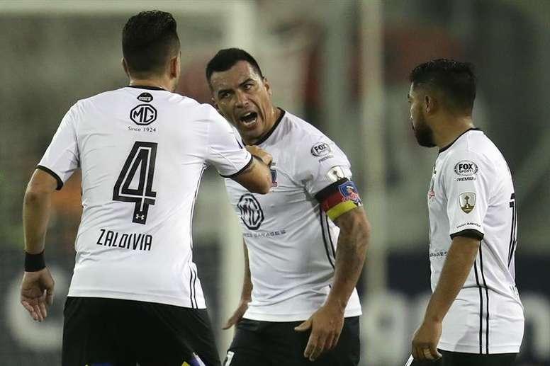 Colo Colo venció en Ecuador. EFE/Archivo