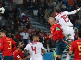 Marruecos dio la cara en todo momento ante España. EFE