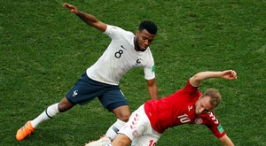 Eriksen insisted Denmark were happy with a draw. EFE
