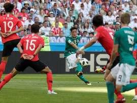 Alemania cayó derrotada ante Corea. EFE