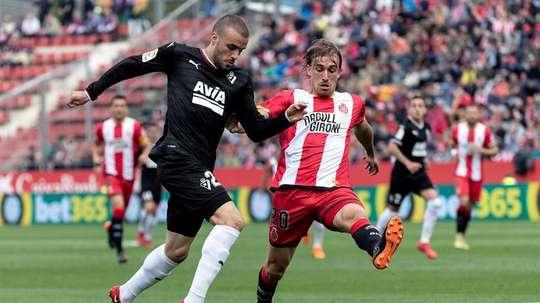 Girona y Eibar se ven las caras. EFE