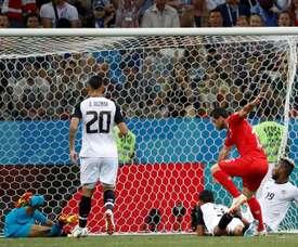 Feliz por el gol. EFE