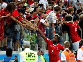 Suiza fue eliminada en octavos por Suecia. EFE