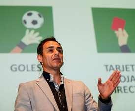 Velasco Carballo presentó el novedoso sistema. EFE