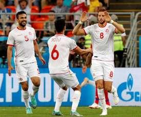 Tunísia bate Panamá de virada em Saransk.Goal