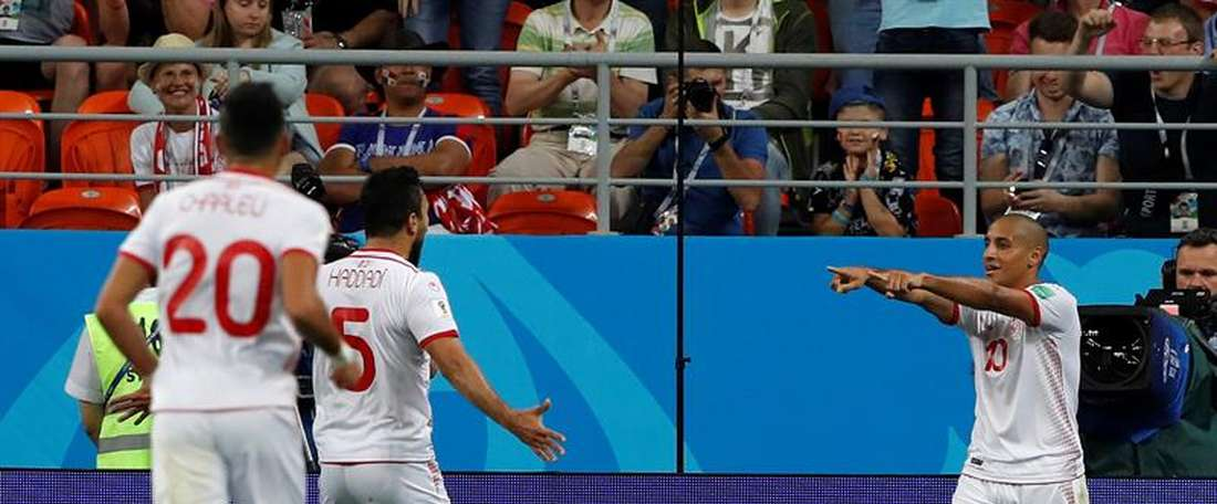 Tunisia fought back to secure victory. AFP