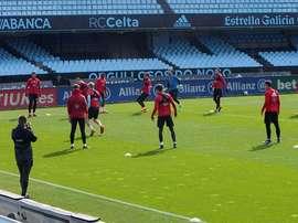 Dos jugadores del filial harán la pretemporada con el Celta. EFE/Archivo