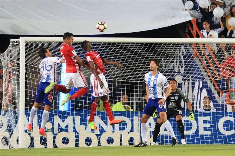 Roland Lamah marcó el único gol. EFE/Archivo