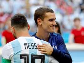 Messi ya no opina sobre Griezmann. EFE