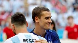 Pourquoi le duo Messi-Griezmann peut faire des ravages. EFE