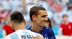 Messi et Griezmann seront au coeur des prochaines batailles en Liga. EFE