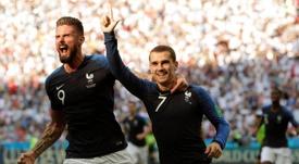 Griezmann évoque le clash Giroud-Benzema. EFE