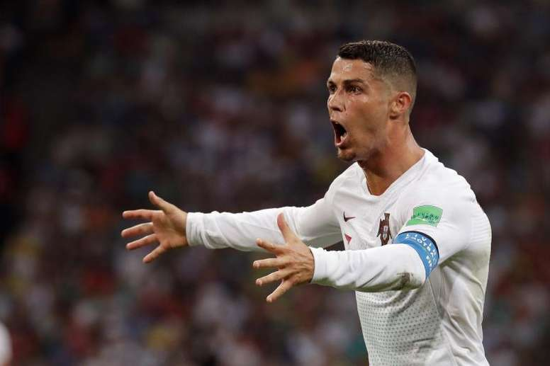 Cristiano is just 14 goals behind the top international scorer. EFE