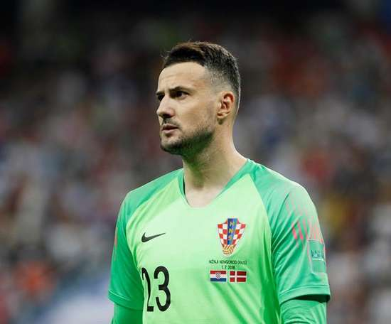 Subašić played a key role in Croatia's journey to the final. AFP