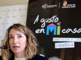Alicia García ha dicho que es inadmisible que se fiche a estos futbolistas. EFE/Archivo