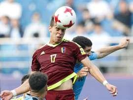 Josua Mejías ya es jugador de pleno derecho del Leganés. EFE/Archivo