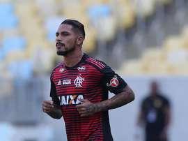 A saída de Guerrero do Flamengo é tida como certa na Gávea. EFE/Archivo