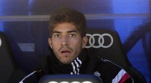 Cruzeiro annonce le retour de Lucas Silva au Real Madrid. EFE/Archivo