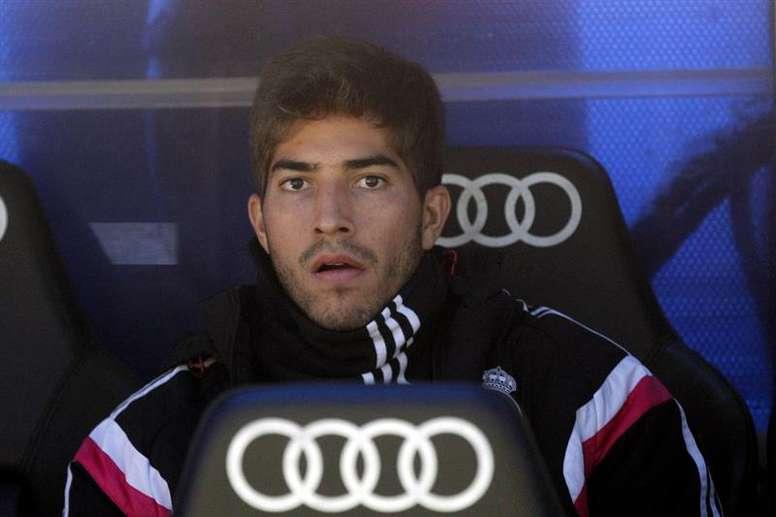 Lucas Silva fue titular en cuatro ocasiones con el Real Madrid. EFE