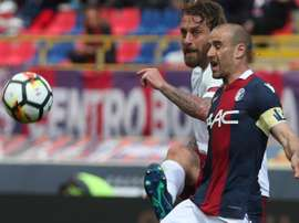 Rodrigo Palacio a signé son nouveau contrat avec Bologne. EFE