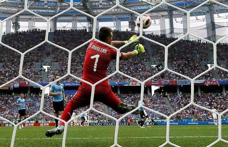 Muslera quiere traer de vuelta la decimosexta Copa América. EFE