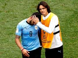 L'Uruguay laisserait Suárez tranquille pour la China Cup. AFP