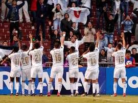 Liga de Quito se adjudicó el primer billete local para la Copa Libertadores de 2019. EFE/Archivo