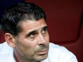 Hierro is in the running for the Flamengo job. EFE