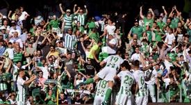 El Betis jugará un amistoso contra el Marsella. EFE/Archivo