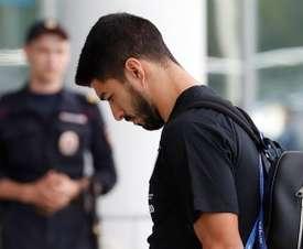 Luis Suárez intenta reencontrarse con su mejor fútbol. EFE