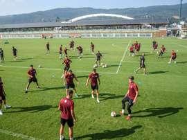 El Athletic disputará su primer amistoso contra el Amorebieta. EFE