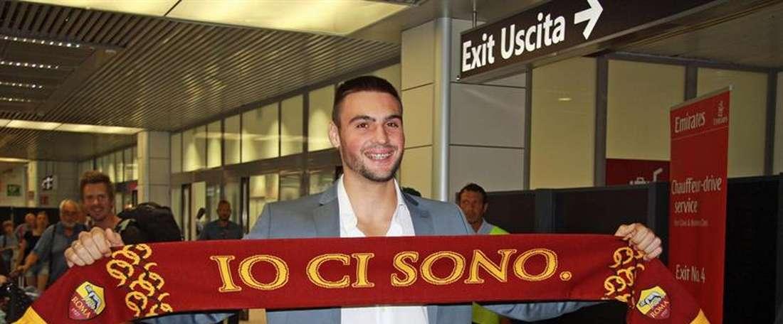 Un nouveau gardien pour la Roma. EFE
