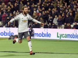 Juan Mata could make a fairytale return to the club. EFE