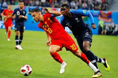 Pogba believes Hazard is the best player in the Premier League. EFE