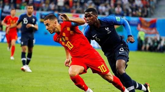 Bélgica será local en la eliminatoria frente a la Selección Francesa. EFE