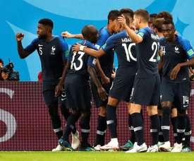 A Copa do Mundo foi a grande protagonista de 2018. AFP