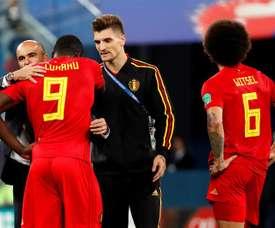 Courtois, Vertonghen, De Bruyne, Hazard e Lukaku, no XI histórico da Bélgica. EFE