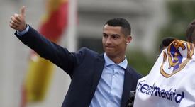 El Madrid hizo un último intento por convencer a Cristiano. EFE