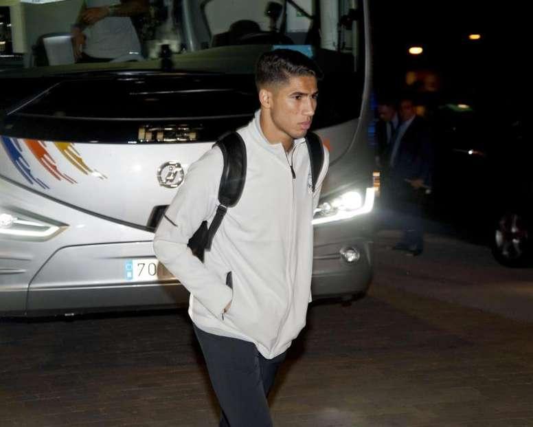 Achraf volverá al Madrid. EFE