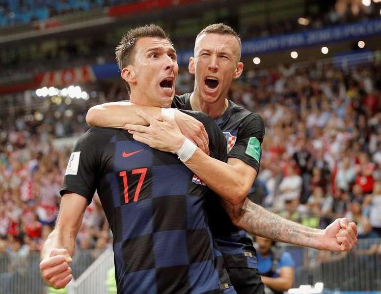 La Croatie a ecrit l'histoire de son pays. EFE
