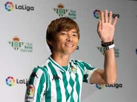 Takashi Inui rejoint le Betis. EFE