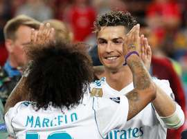 Marcelo talked about Ronaldo's influences before the 2017 CL final. EFE