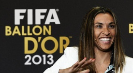 Marta Vieira da Silva será embajadora de la ONU. EFE/Archivo