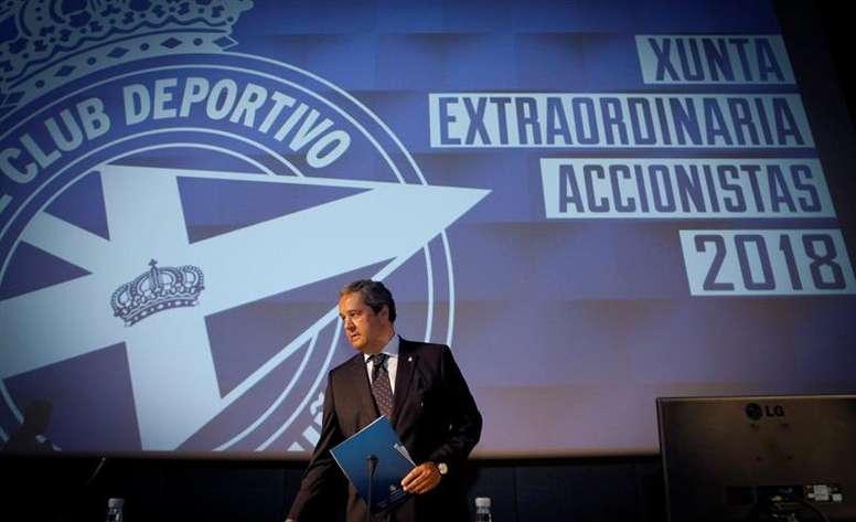 Tino Fernández dejará la presidencia la próxima semana. EFE